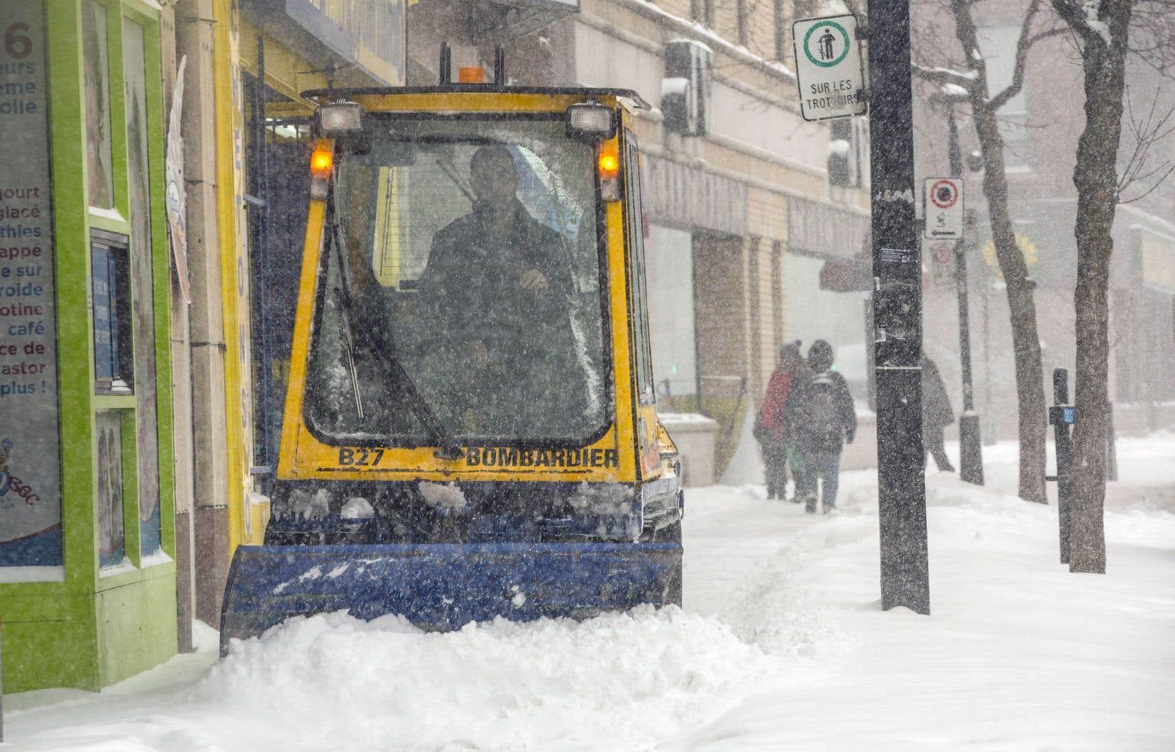 La Ville de Montréal s'est dotée d'un budget de 166 millions de dollars pour les opérations de déneigement.