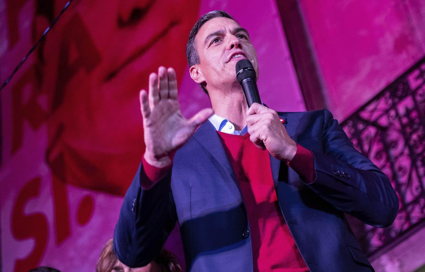 Pedro Sánchez a manqué son pari de sortir renforcé de ces quatrièmes élections générales.