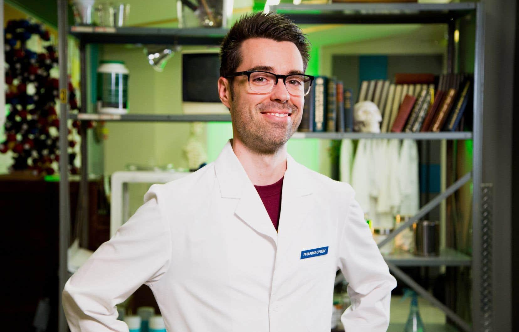 Le blogueur et vulgarisateur Olivier Bernard, alias «Le Pharmachien»