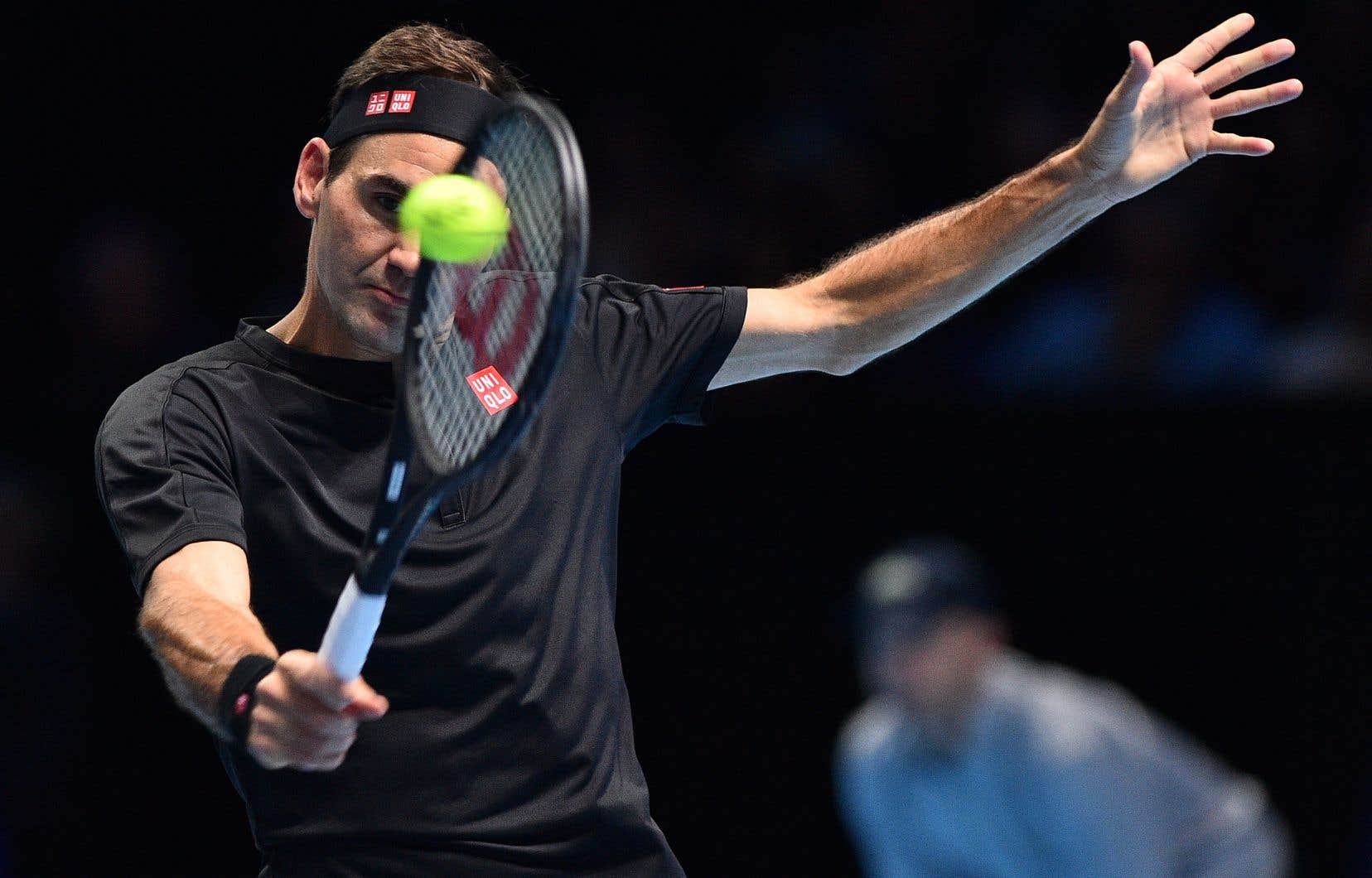 Roger Federer a défait Matteo Berrettini 7-6 (2), 6-3.