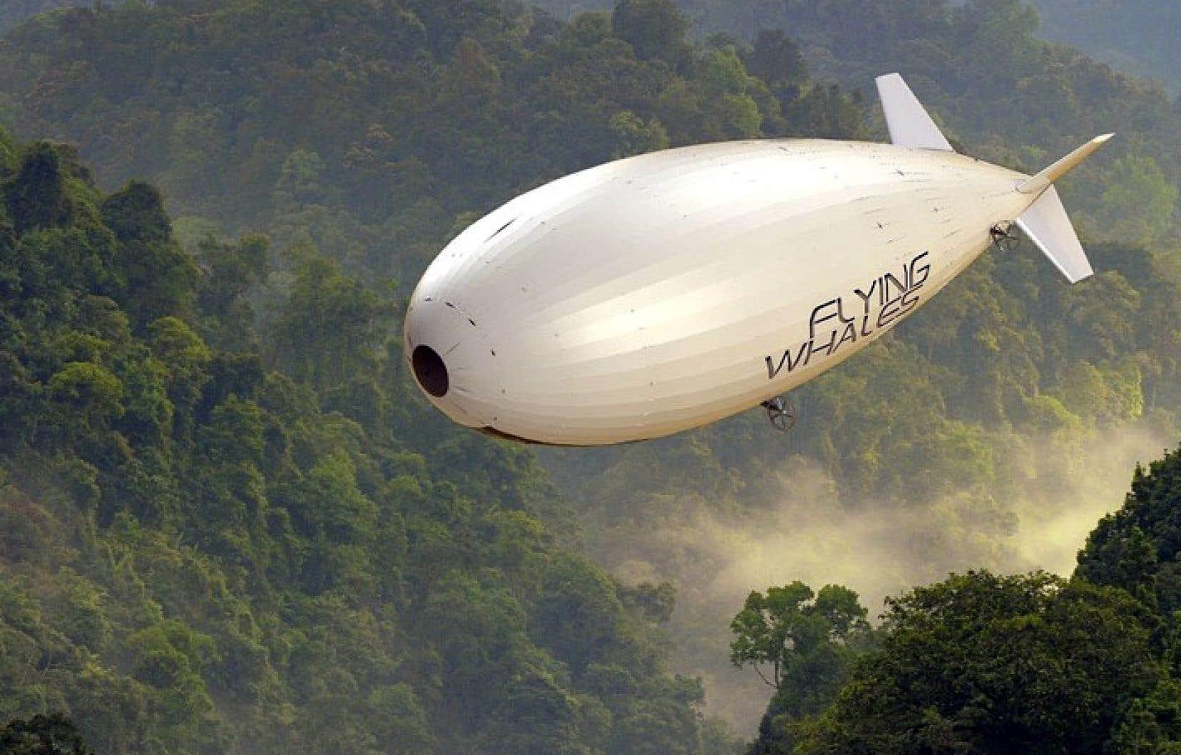 Les ballons dirigeables que prévoit de construire l'entreprise française Flying Whales seront capables de transporter des marchandises très lourdes, a indiqué le premier ministre du Québec, François Legault.