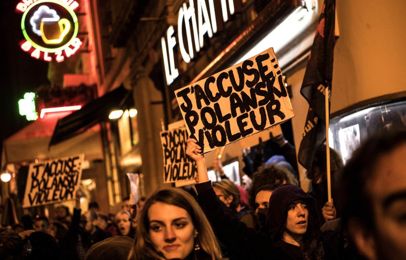 Après l'annulation d'une avant-première à Paris mardi, un mot-clic #BoycottPolanski est apparu sur les réseaux sociaux.