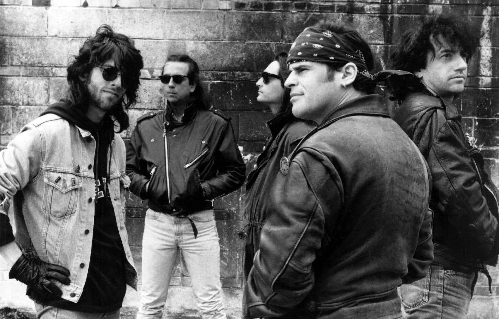 Le groupe Vilain Pingouin, en 1993