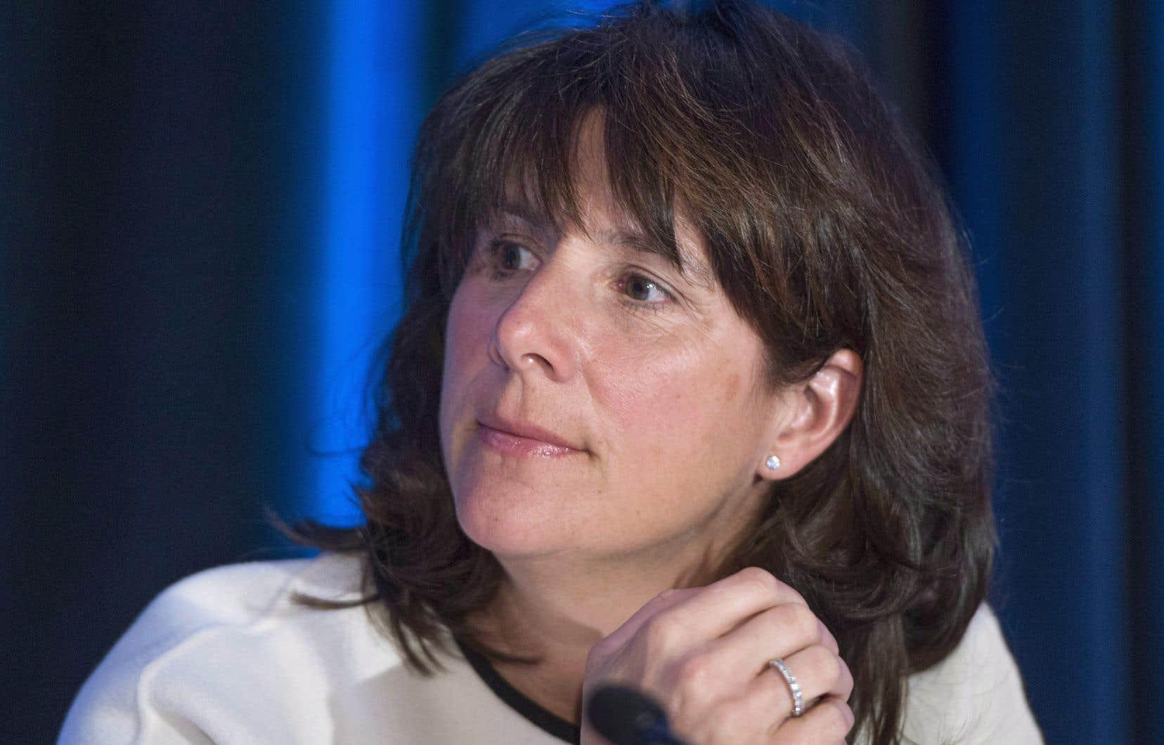 La présidente d'Énergir, Sophie Brochu