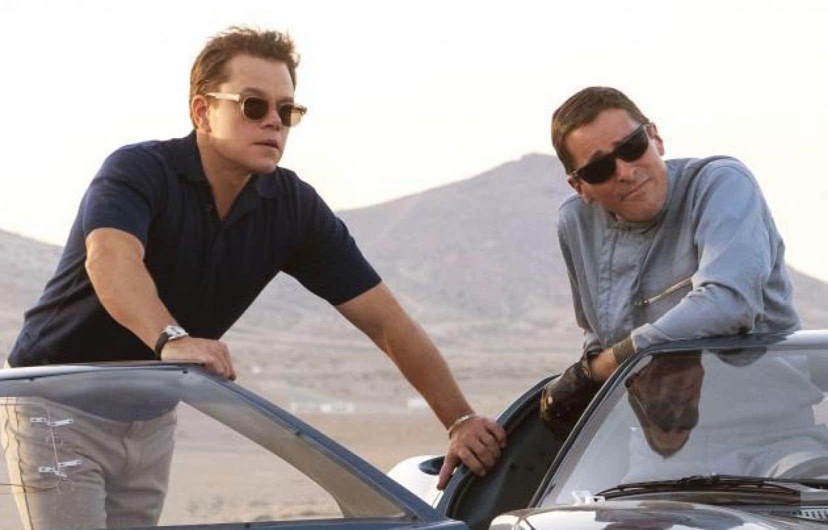 Matt Damon et Christian Bale dans «Ford contre Ferrari»
