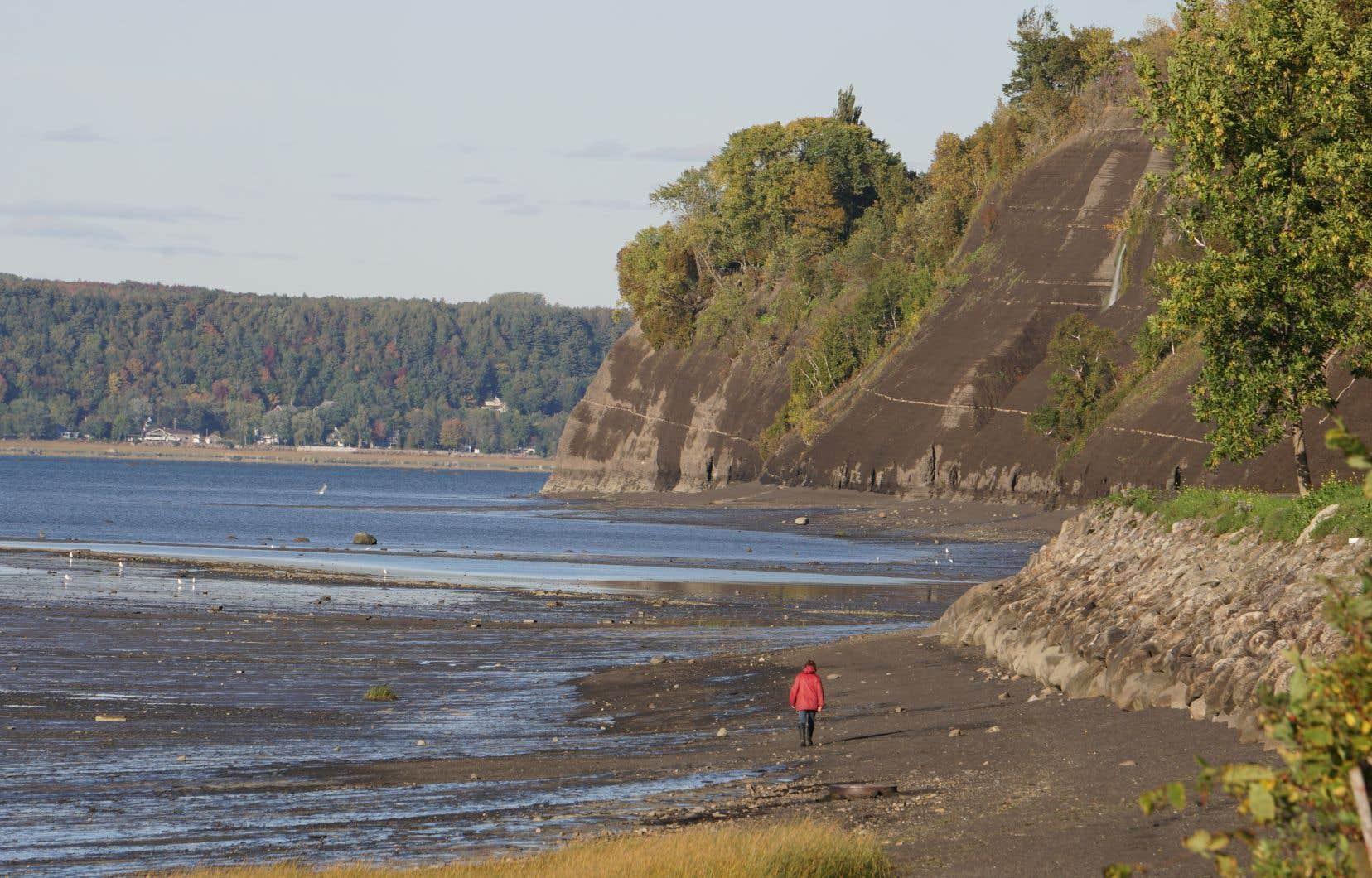 Un accès au fleuve dans Lotbinière