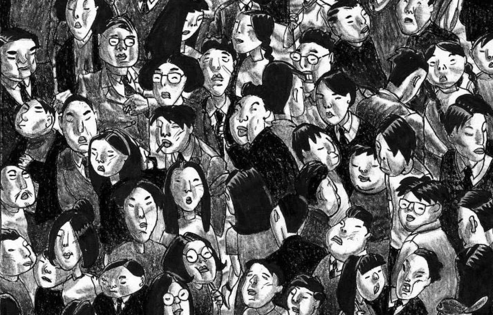 Une planche tirée de «Shenzhen», de Guy Delisle