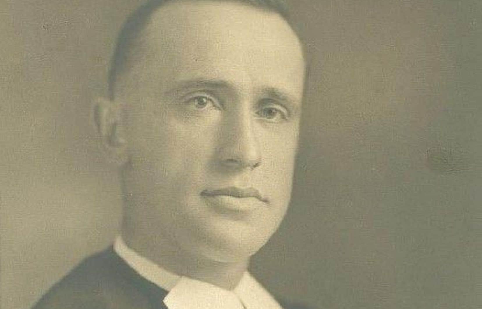 Le frère Marie-Victorin, né Conrad Kirouac au Québec