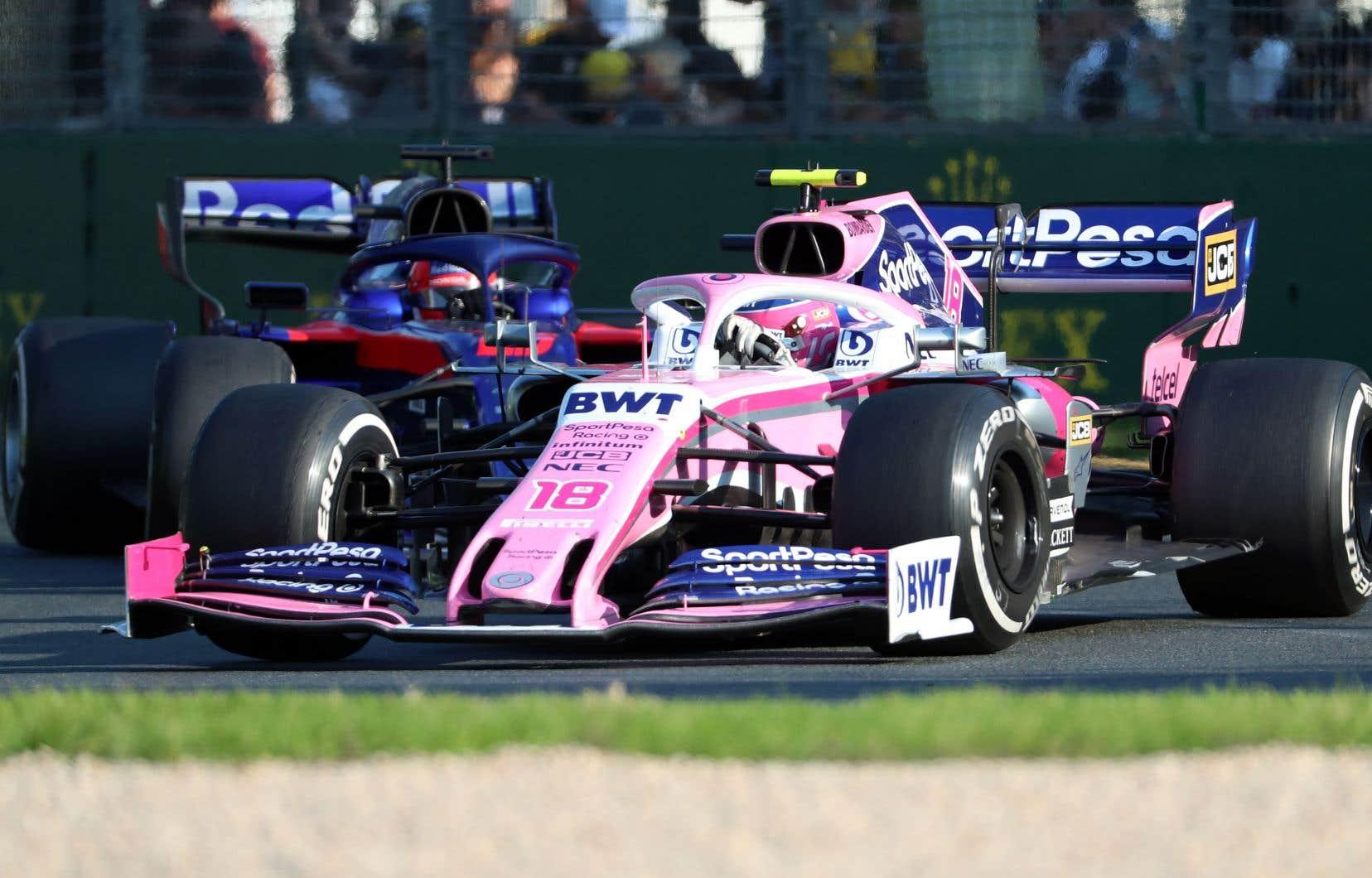 F1: lutte sans merci entre Racing Point et Toro Rosso