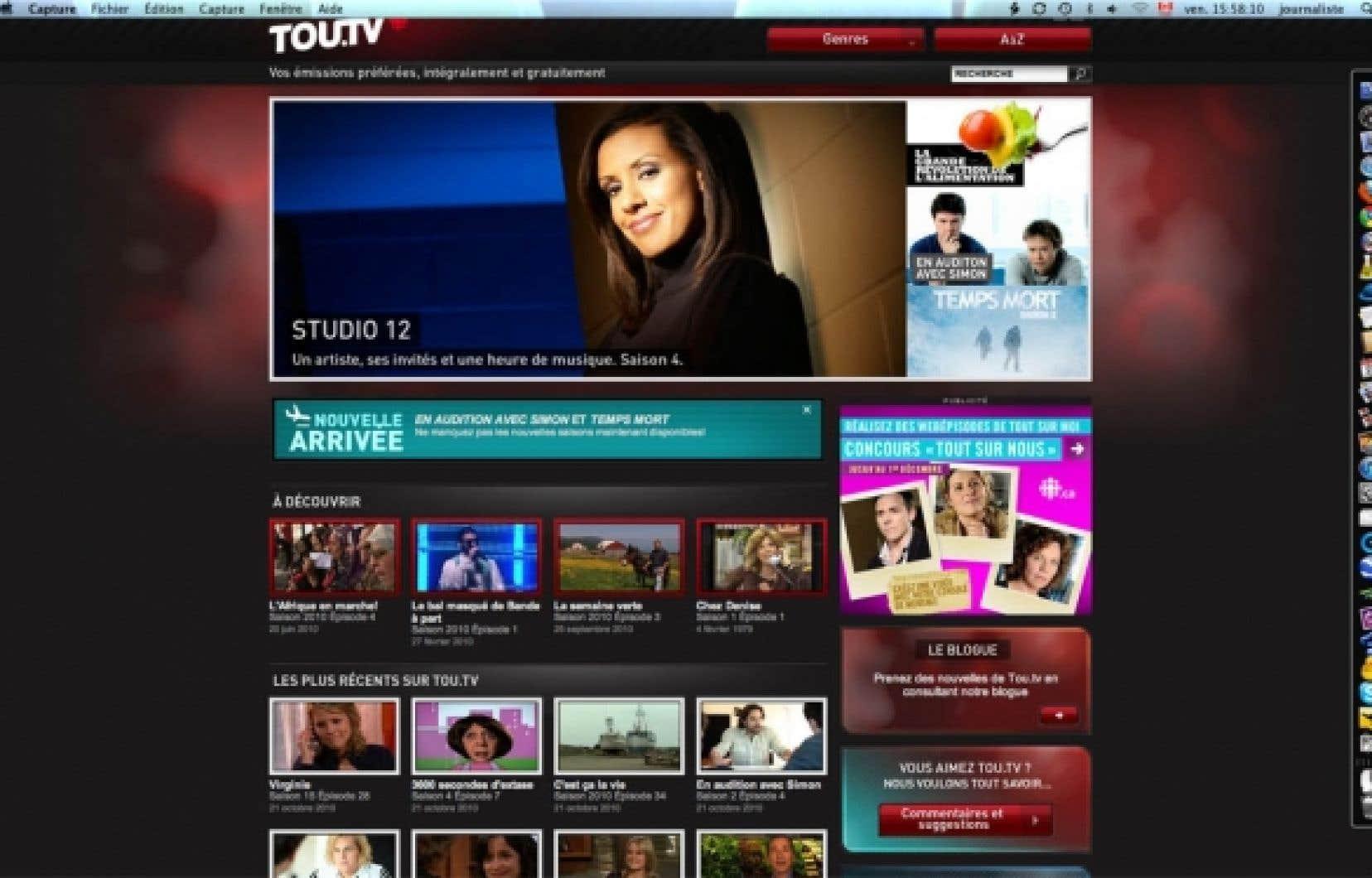 En neuf mois seulement, Tou.tv a g&eacute;n&eacute;r&eacute; 18 millions de branchements, dont la moiti&eacute; des adultes de 18 &agrave; 35 ans.<br />