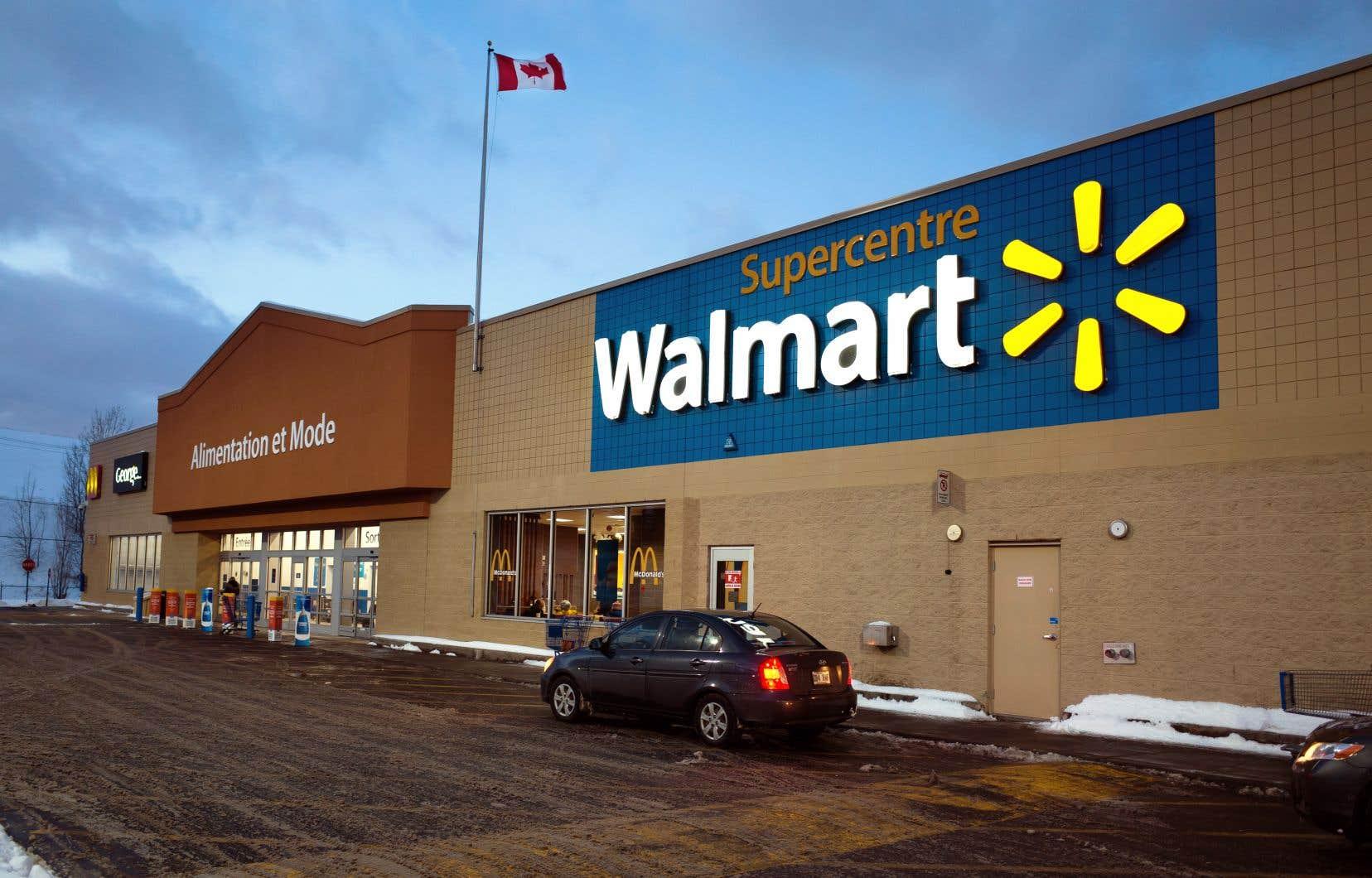 Les ventes en ligne ont bondi de 41% lors du trimestre écoulé, soit le meilleur trimestre de Walmart depuis le début de l'année.