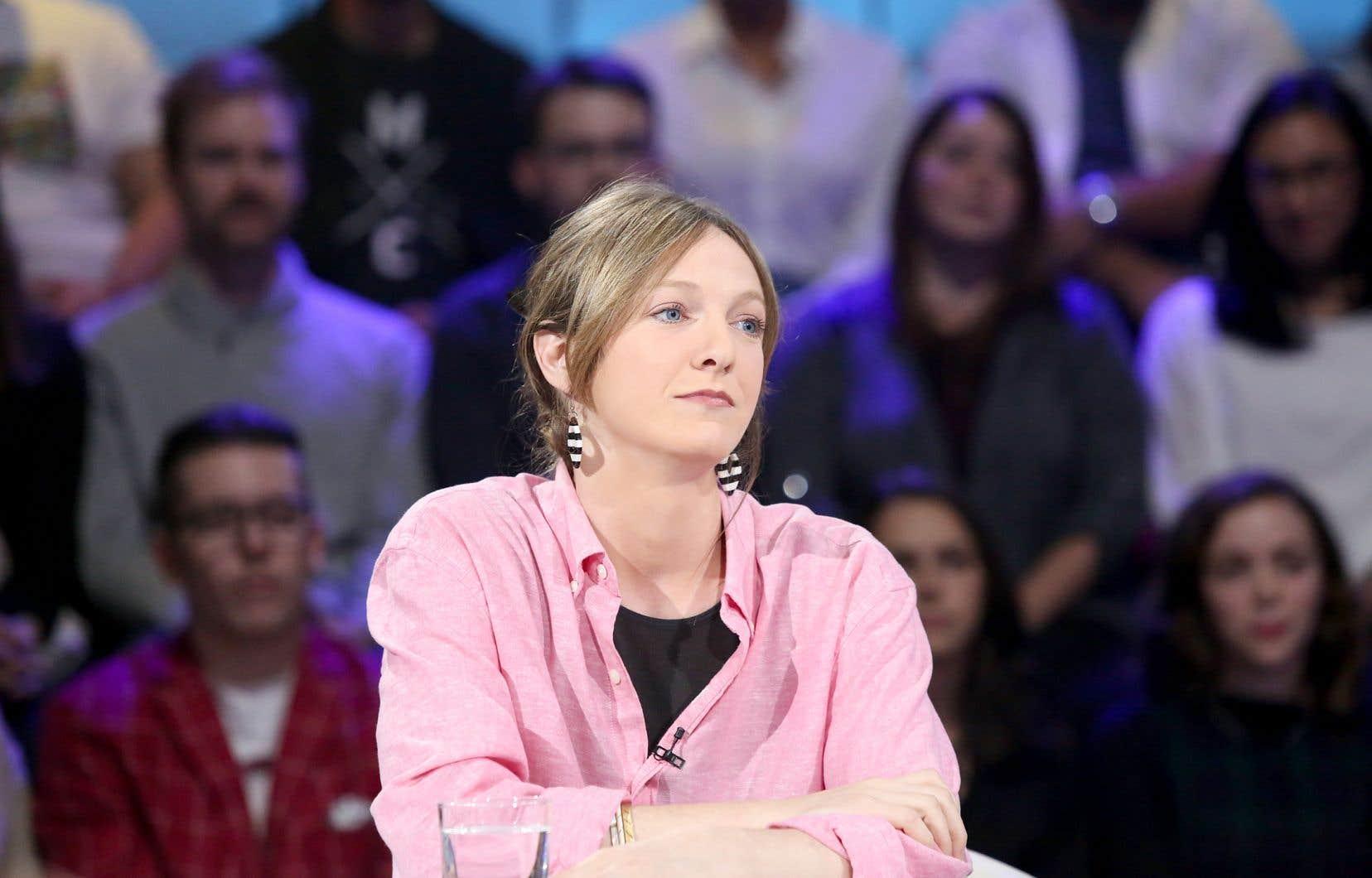 La député solidaire Catherine Dorion a défendu son choix vestimentaire à l'Assemblée nationale lors de son passage à l'émission «Tout le monde en parle», dimanche dernier.