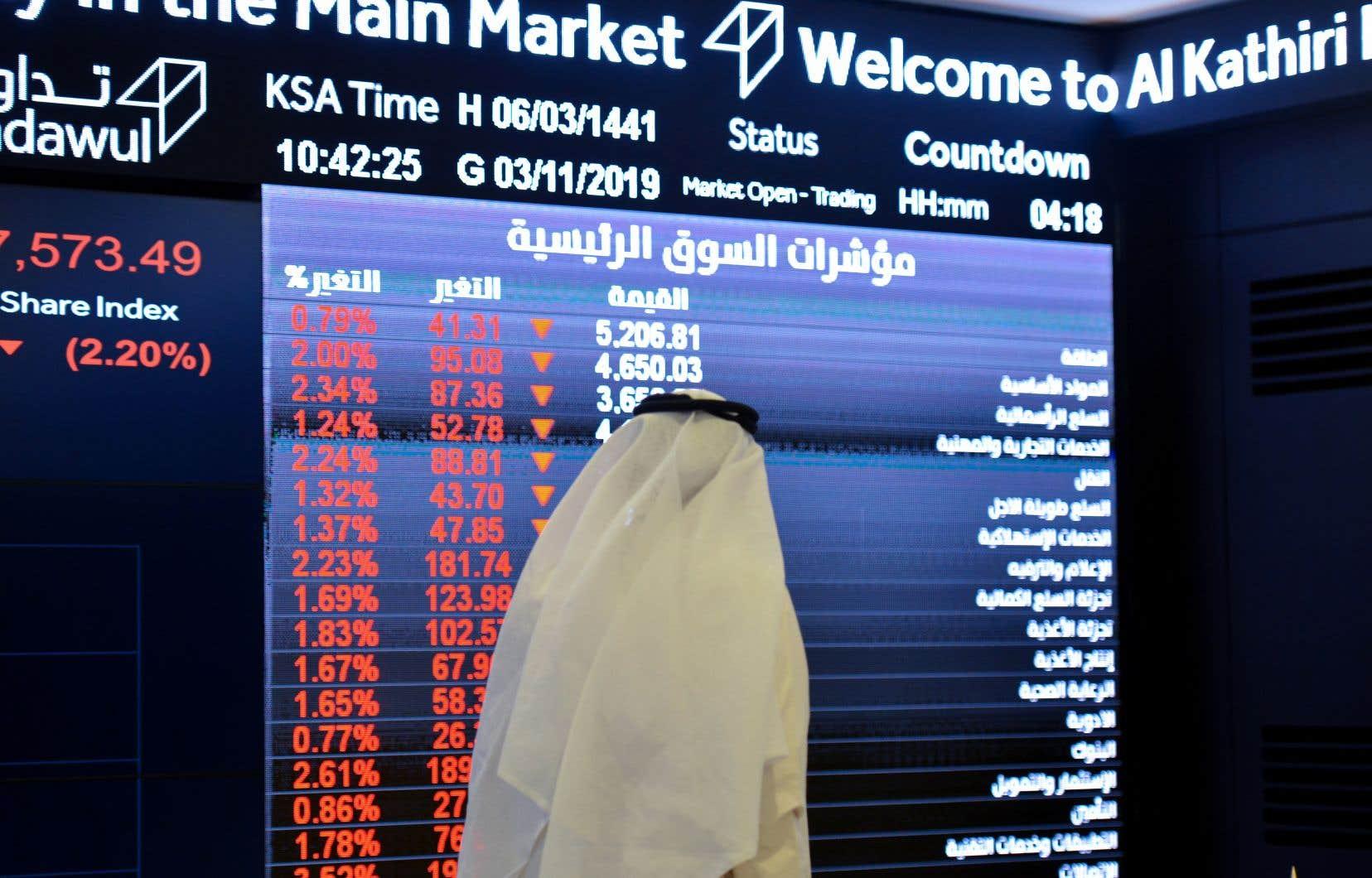L'Arabie saoudite a estimé que la valorisation de son fleuron national pourrait atteindre 1710 milliards de dollars.