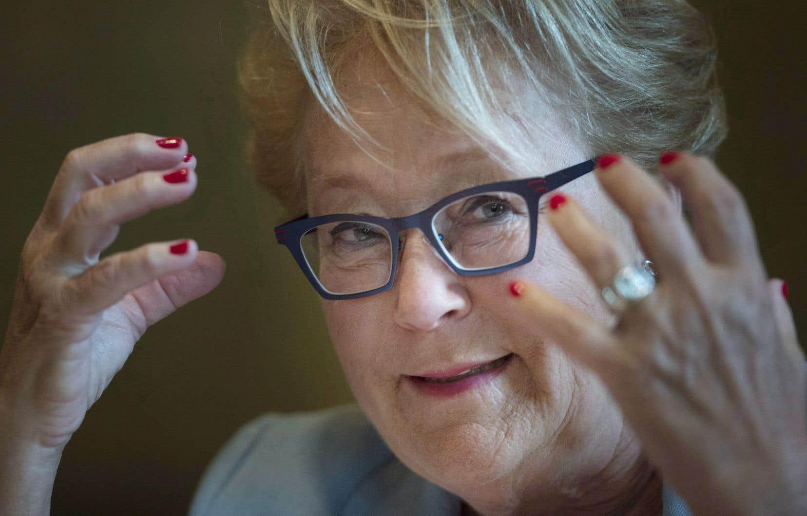 Pauline Marois croit que les citoyens sont les premiers responsables de la question.