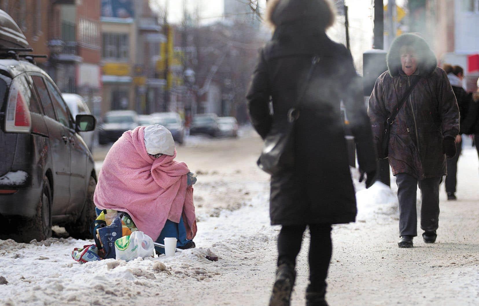 L'accès aux refuges est encore difficile à Montréal.