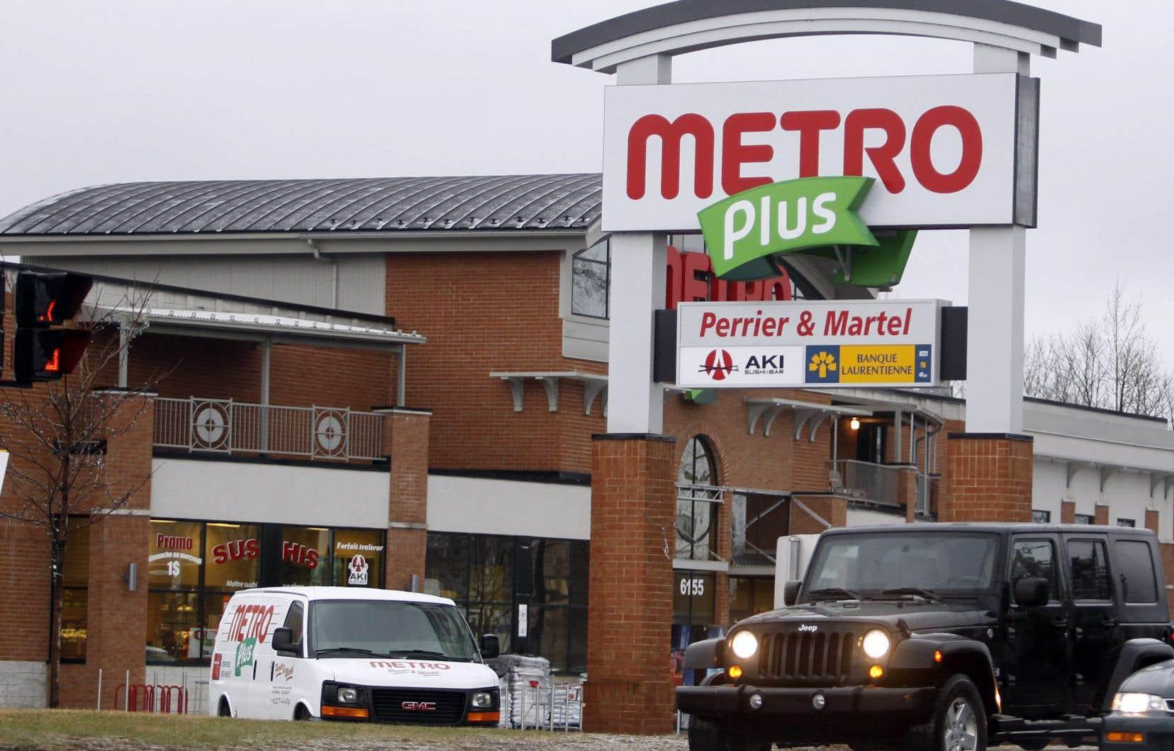 Les caisses libre-service sont déjà installées dans plus de 100 magasins Metro et l'entreprise prévoit d'ajouter cette technologie dans 100 autres magasins.