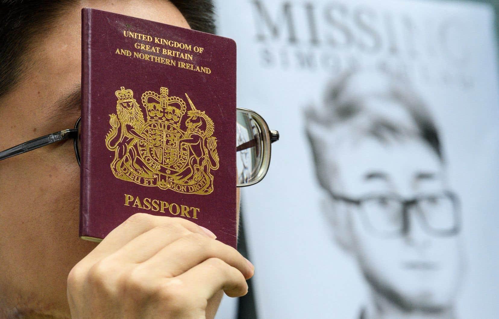 L'ancien employé du consulat de Grande-Bretagne à Hong Kong, Simon Cheng,avait disparu le 8août après s'être rendu à Shenzhen, une ville frontalière de Hong Kong, territoire autonome du sud de la Chine en proie à cinq mois de manifestations.