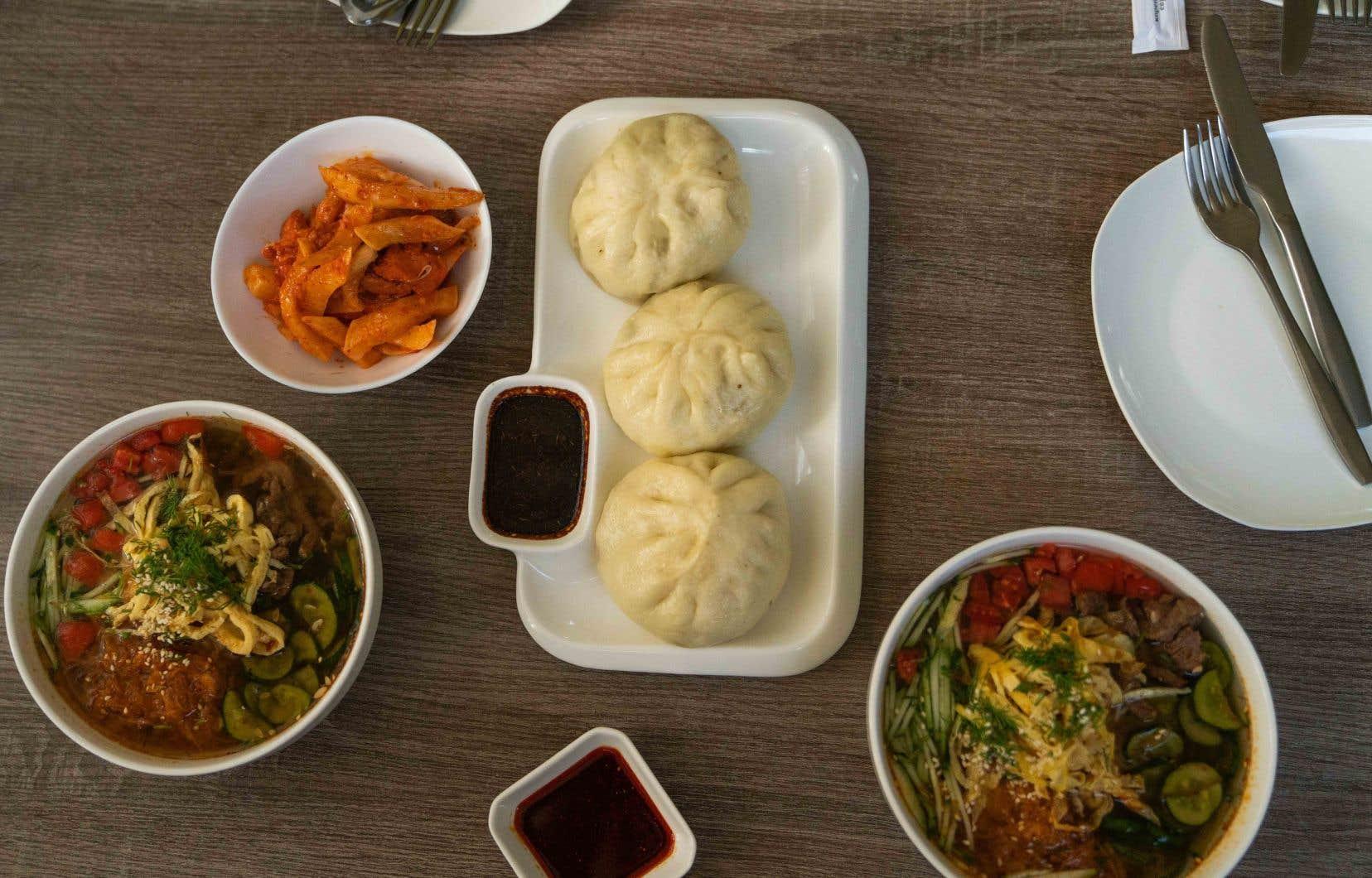 Des dumplings, des kuksi et du poisson mariné servis  au Neskuchnyy Sad,  le restaurant  de Victoria Yugai
