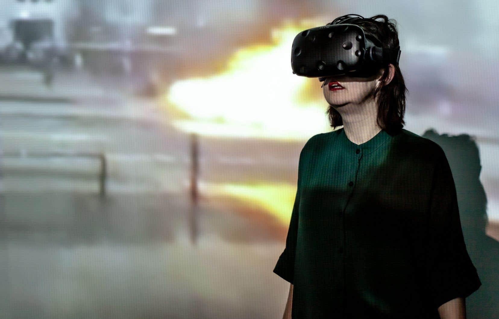 Le jeune metteur en scène franco-ontarien Dillon Orr donne naissance à «une proposition scénique numérique» de 45 minutes.