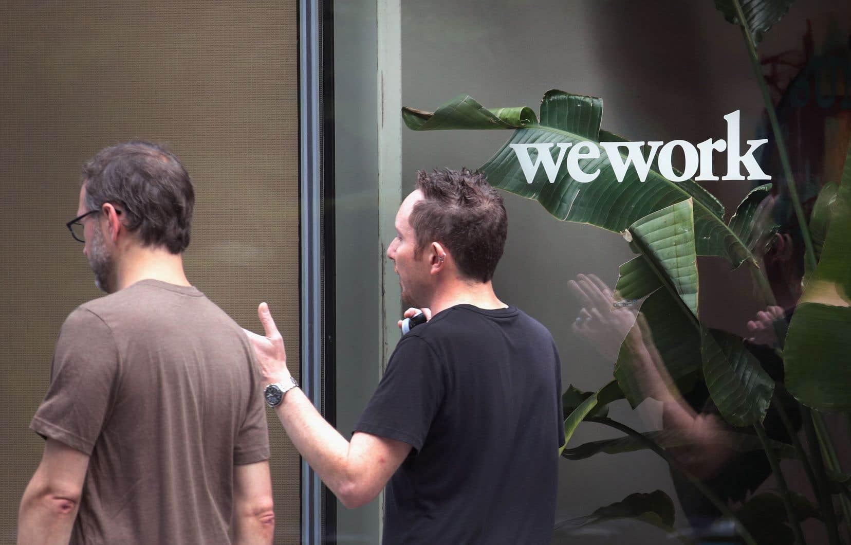 L'entreprise américaine de bureaux partagés WeWork était présentée il y a encore peu comme l'une des étoiles de l'économie du partage.