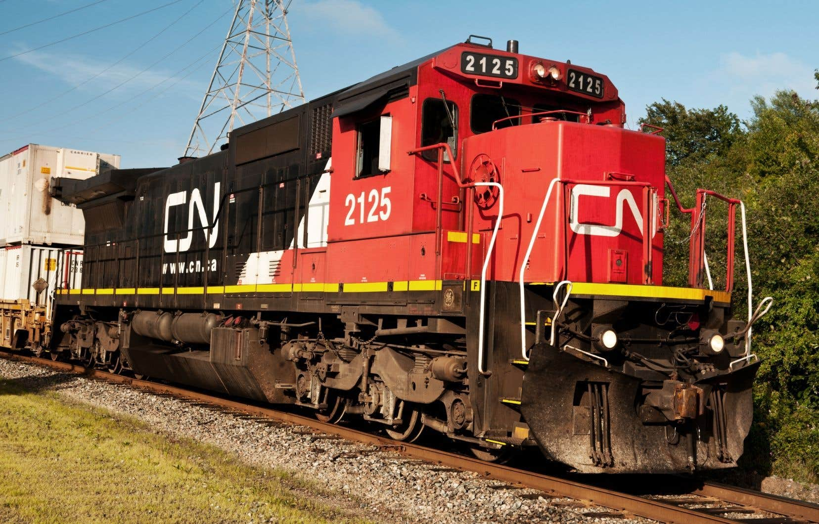 Les chefs et les agents de train ainsi que les agents de triage du CN sont en grève depuis mardi.