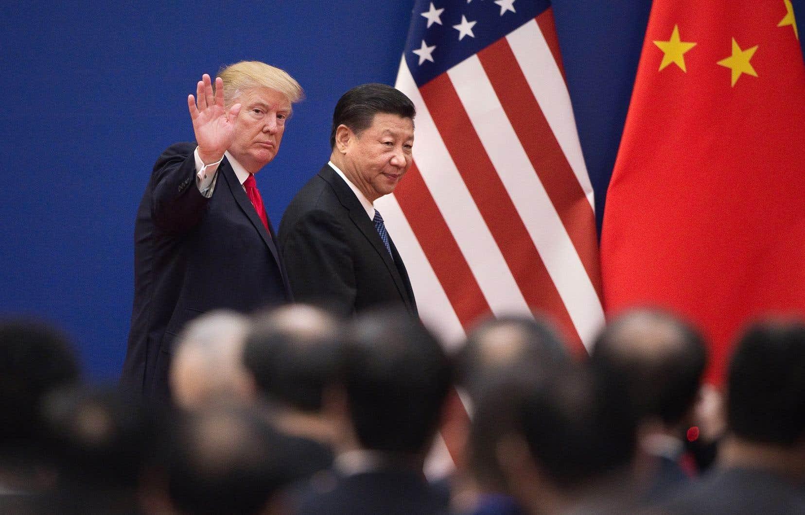 En plus d'un an et demi d'affrontement à coups de droits de douane, le président chinois, Xi Jinping, s'est très rarement prononcé publiquement sur le conflit qui accentue le ralentissement économique de son pays.