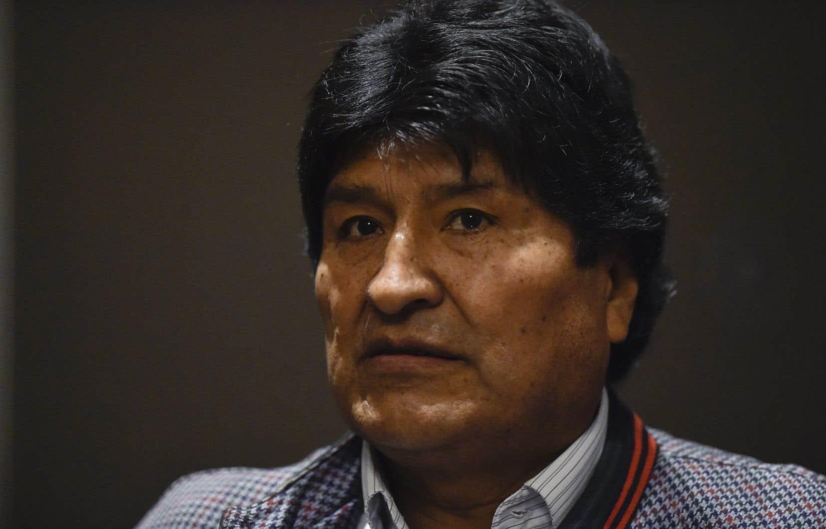 L'ex-président bolivien Evo Morales
