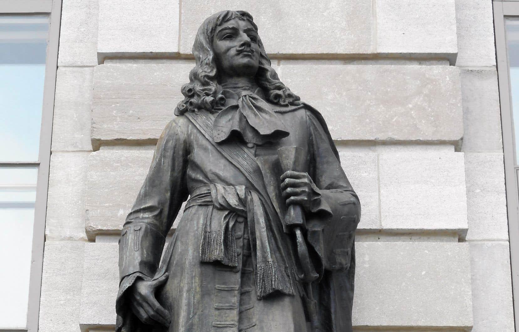 Statue de Jean Talon à l'assemblée Nationale au Québec