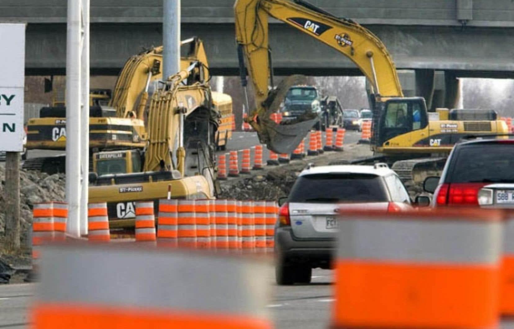 La loi 76 a des effets pervers pour l'industrie de la construction.<br />
