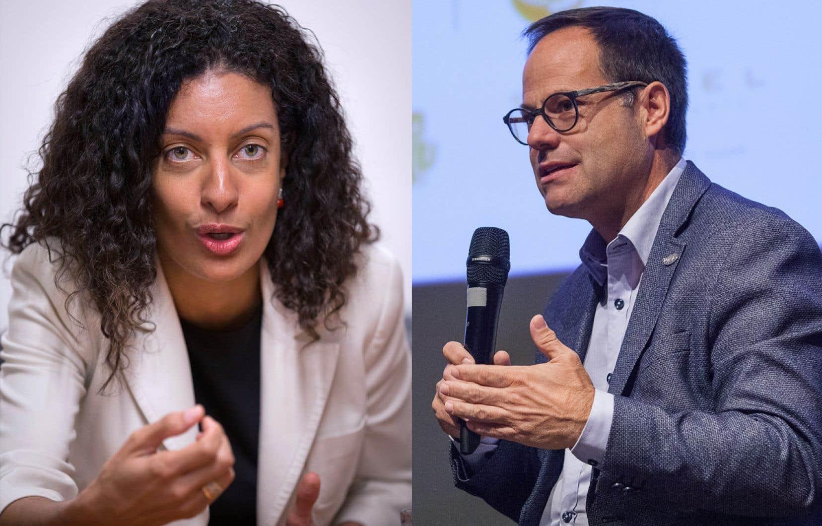 Pour le moment, Dominique Anglade et Alexandre Cusson briguent seuls la chefferie du parti.