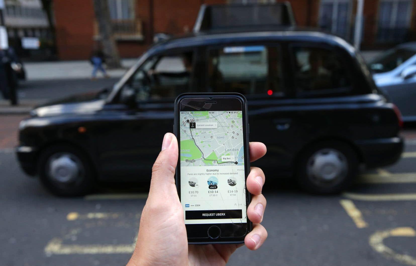 Uber n'est «pas apte» à détenir une licence à Londres, son plus gros marché européen, a indiqué Transport for London dans un communiqué.