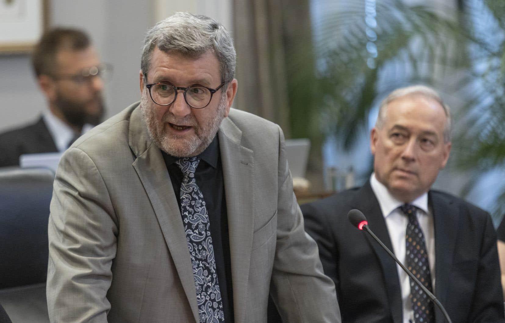 Régis Labeaume présentait lundi son 14e budget à la Ville de Québec.