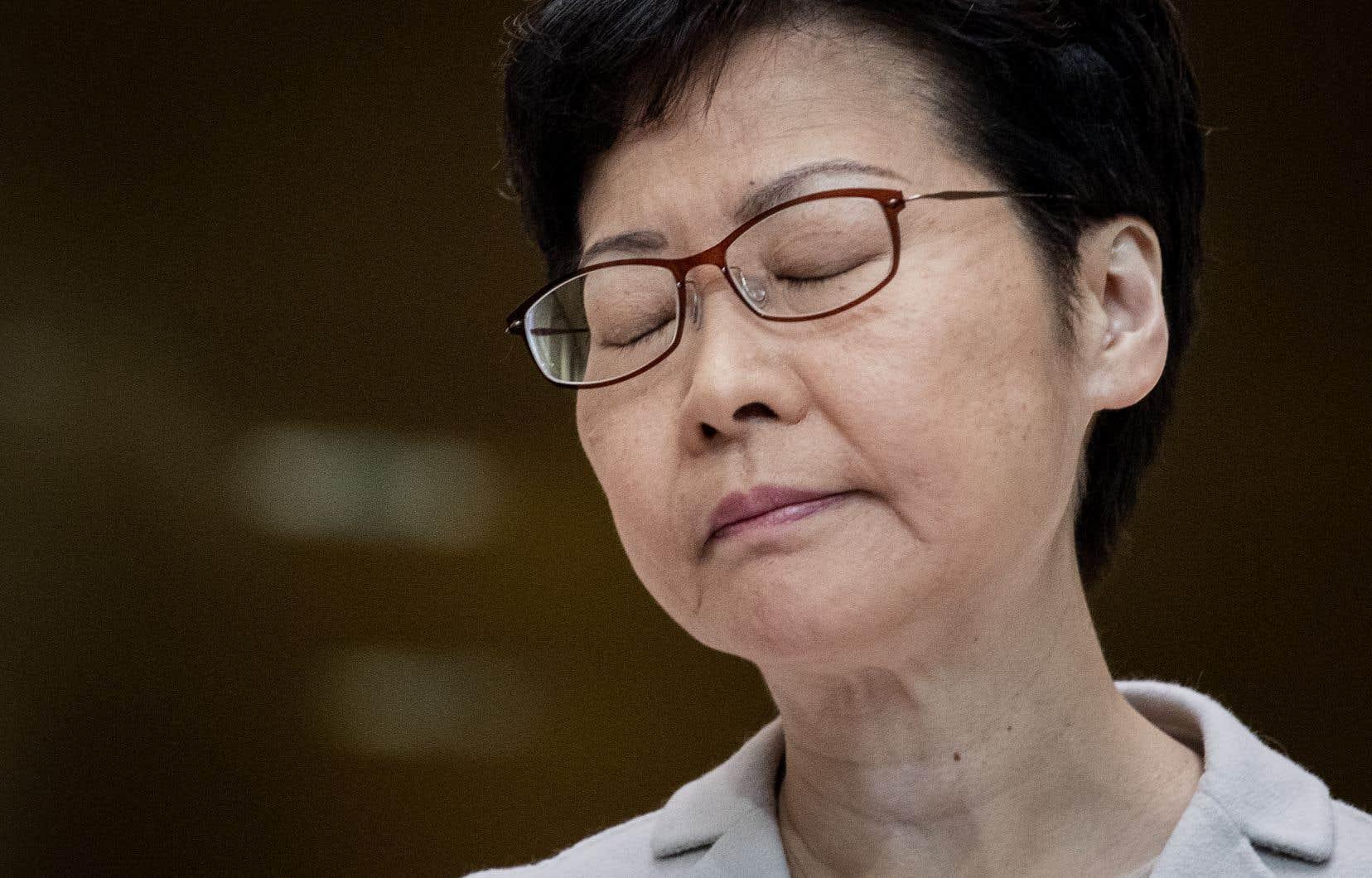 La dirigeante hongkongaise Carrie Lam, qui cristallise la colère des manifestants, s'est engagée mardi à «améliorer la gouvernance» de l'exécutif.