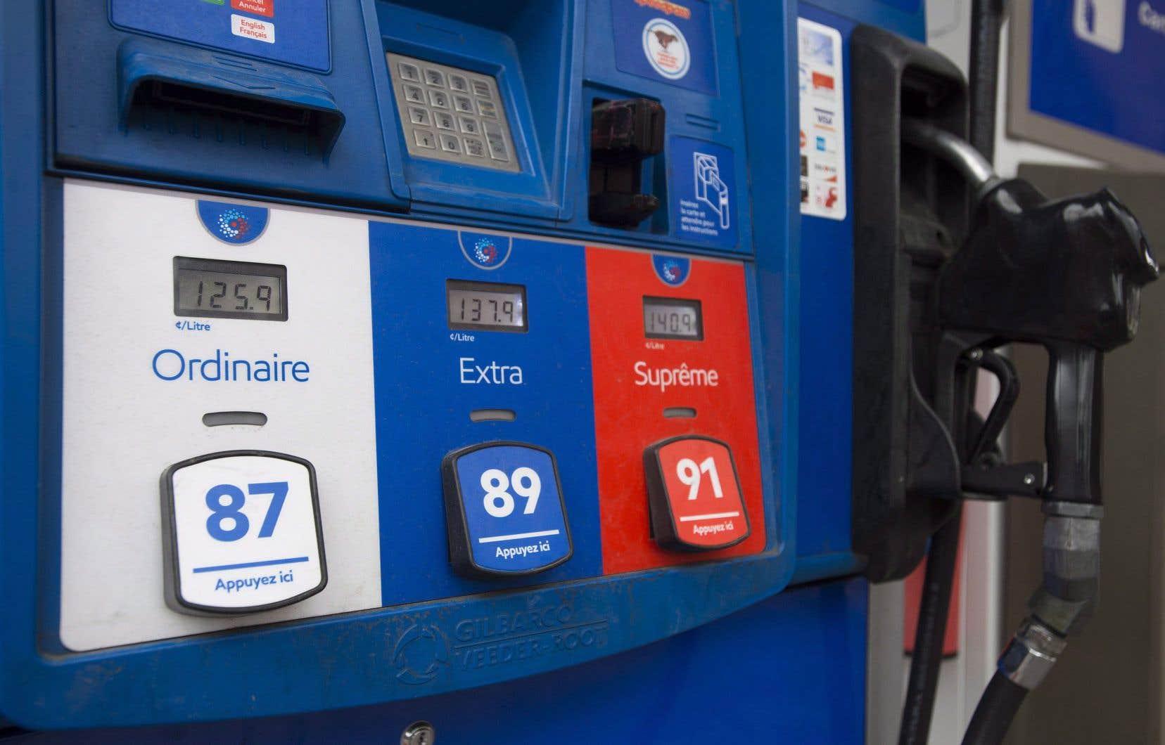 Selon un groupe d'experts, augmenter de 40¢ l'essence à la pompe demeure le meilleur moyen de réduire les émissions de GES.