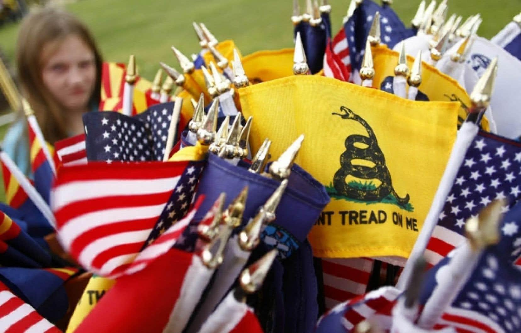 Expression des voix conservatrices dissidentes, le Tea Party a le vent dans les voiles pour troubler les élections de la semaine prochaine.<br />