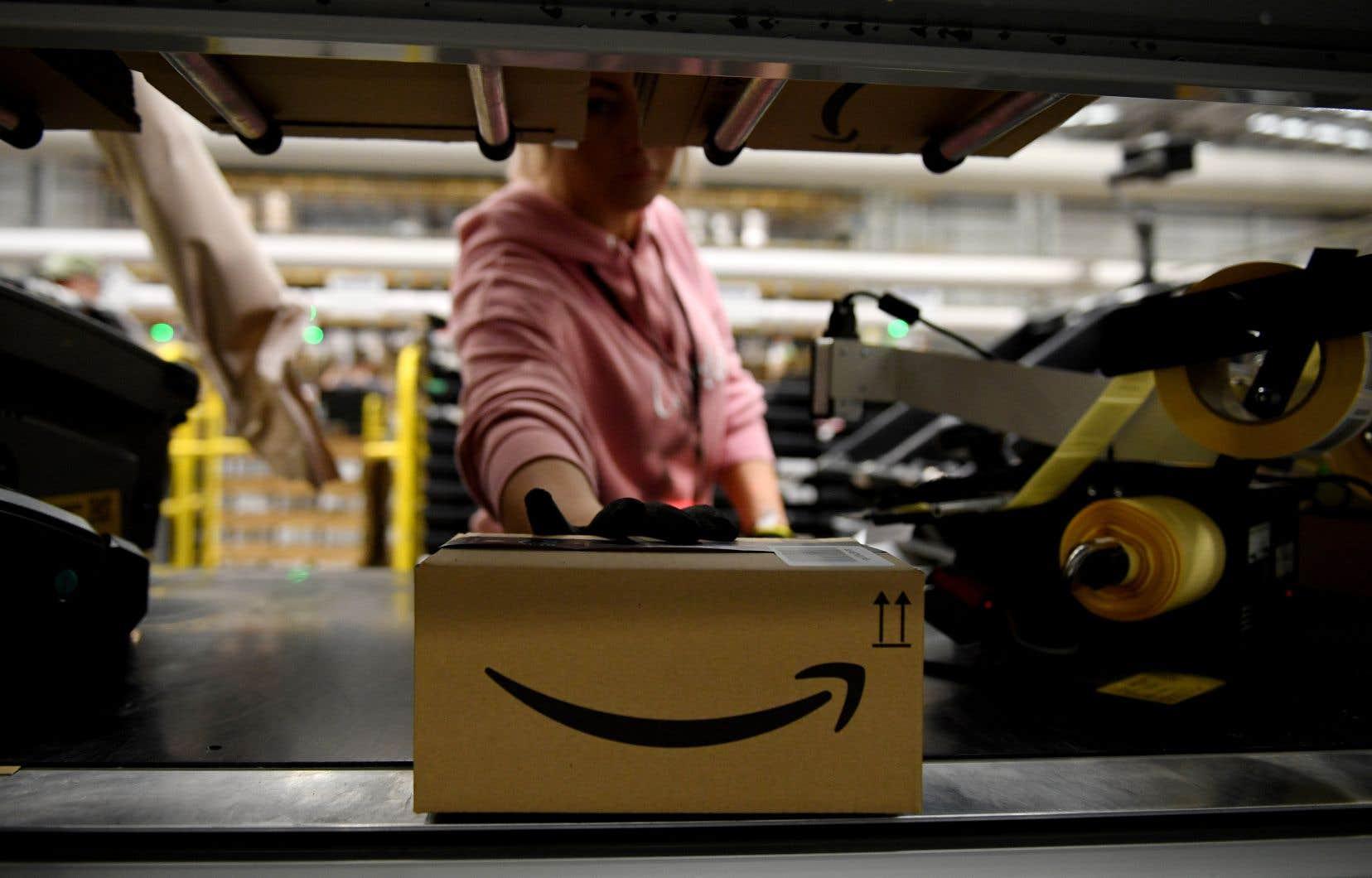 Amazon livre cinq milliards de colis par année, au rythme de 158 par seconde.