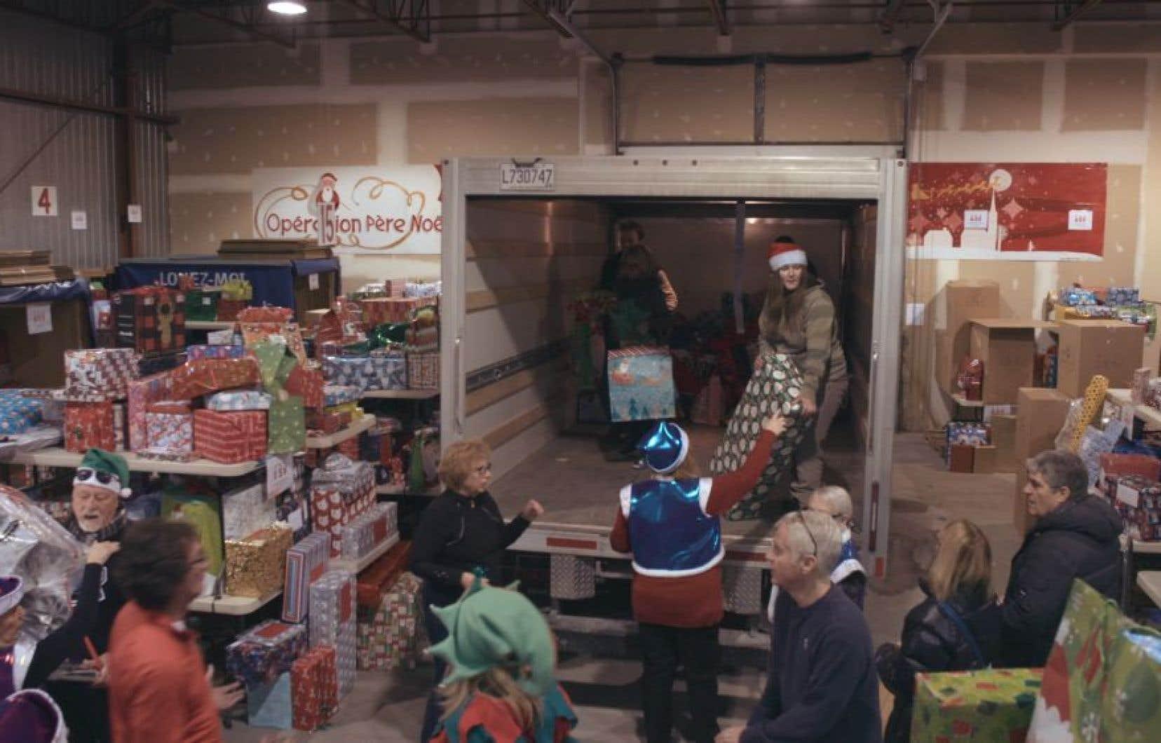 Une scène du documentaire «Opération Père Noël», de Geneviève Albert
