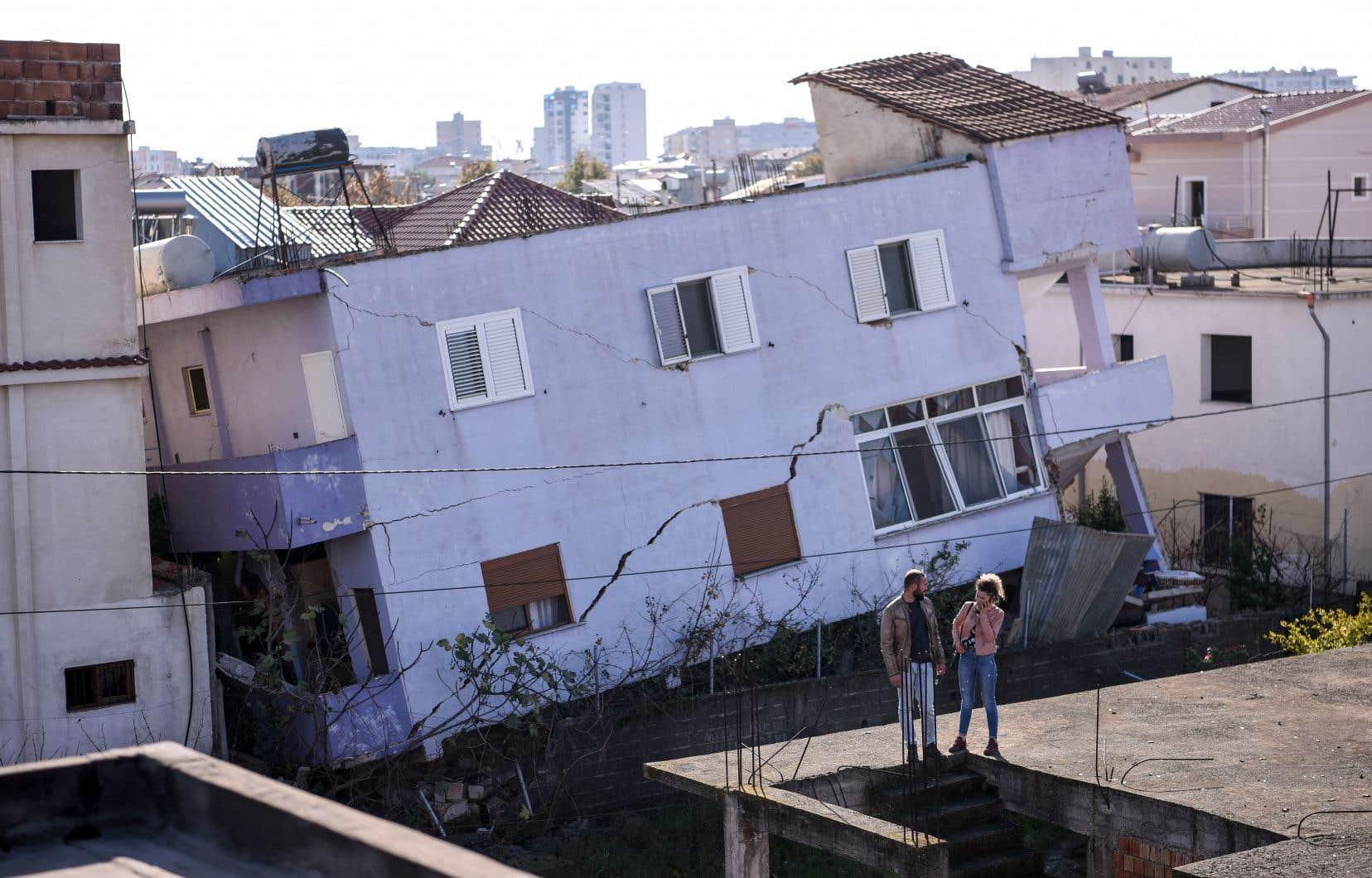 Le tremblement de terre de magnitude 6,4 est le plus puissant ressenti dans cette région depuis près d'un siècle.
