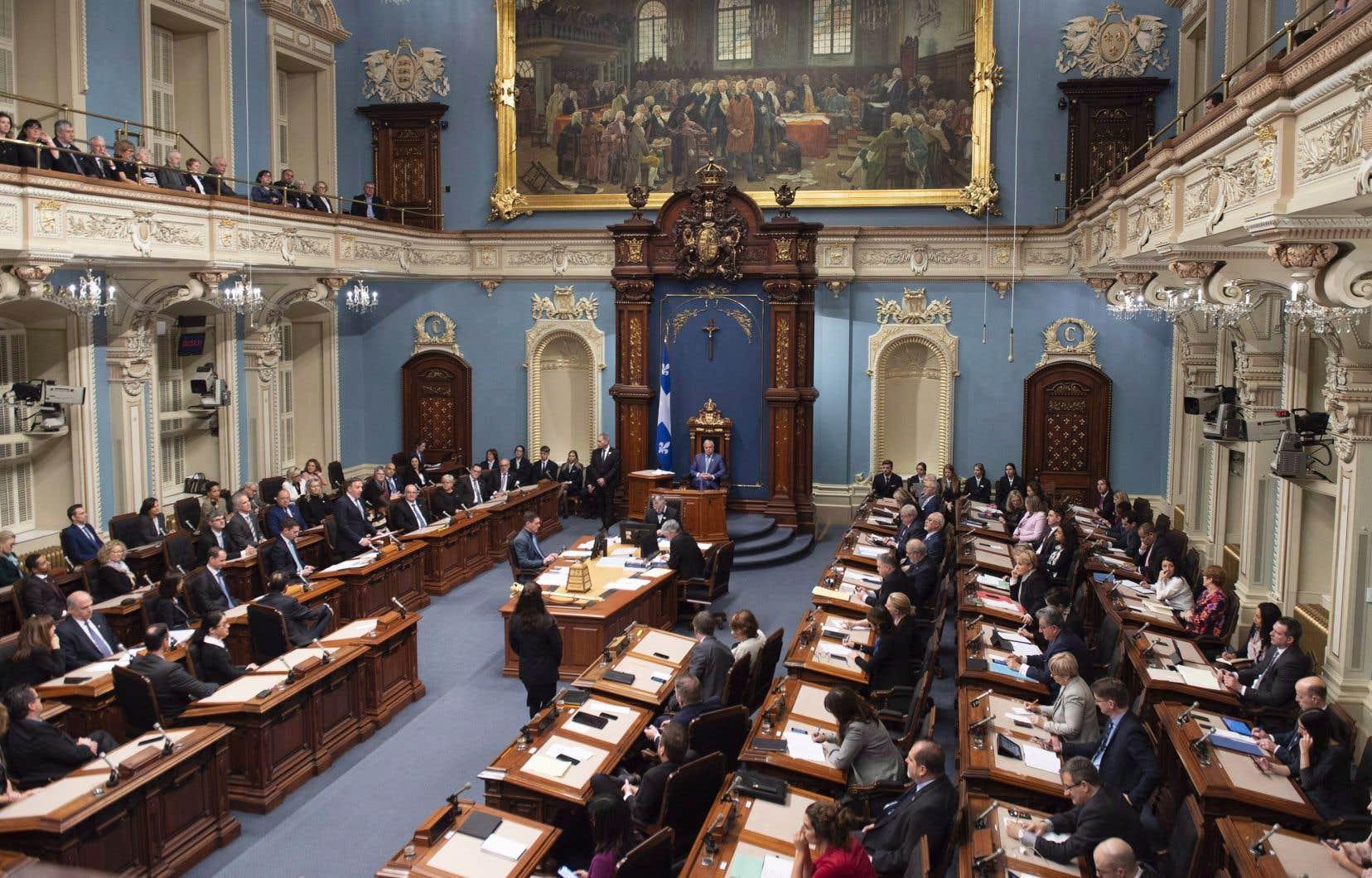 L'engagement a été pris à l'Assemblée nationale lors d'un vote sur une motion de Québec solidaire.