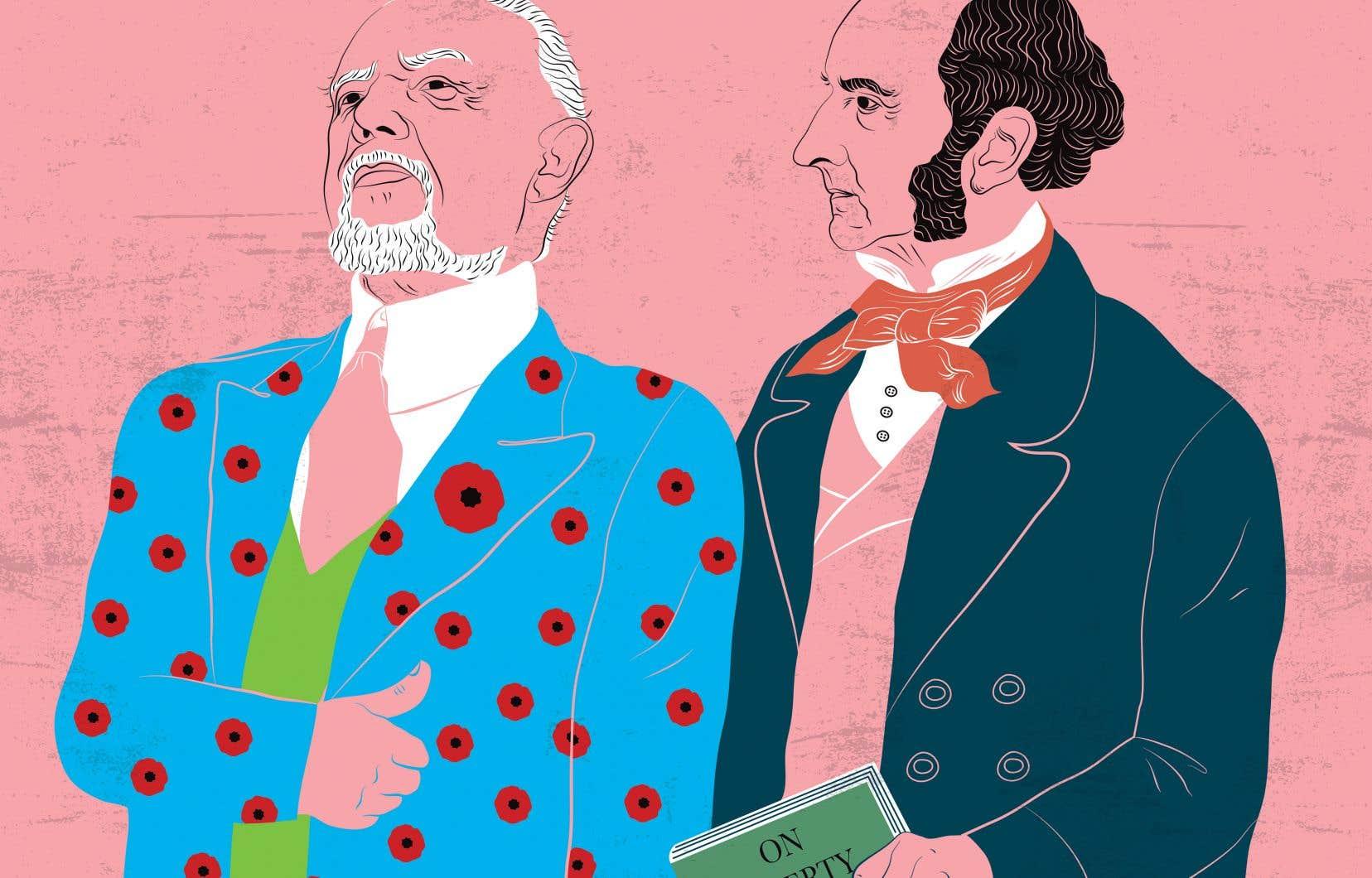 L'argument de la vérité n'est pas le seul que John Stuart Mill, éminent philosophe britannique et auteur, pourrait employer pour défendre le «coach» aux vestons colorés. Le philosophe a également élaboré un principe célèbre, qu'on nommera plus tard le principe du tort.