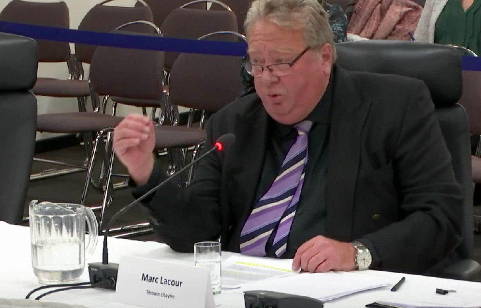 Marc Lacour, ancien directeur de la Protection de la jeunesse de la Mauricie et du Centre-du-Québec