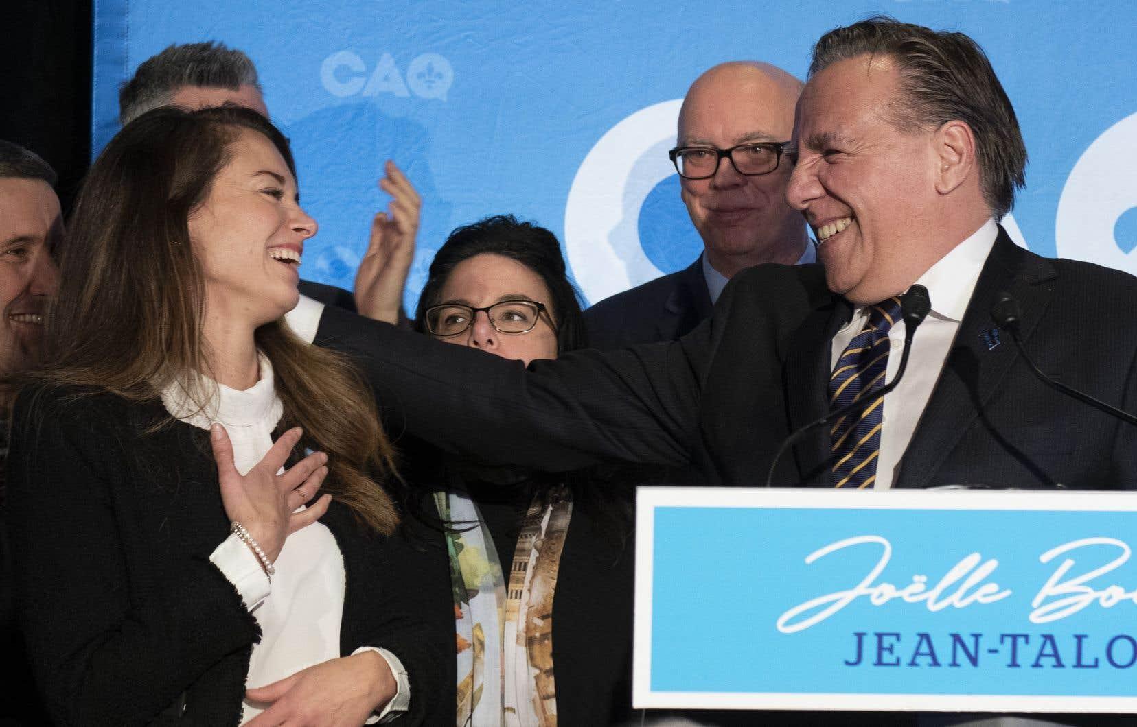 La candidate de la Coalition avenir Québec, Joëlle Boutin, a remporté une victoire sans équivoque, raflant 43,3% du vote.