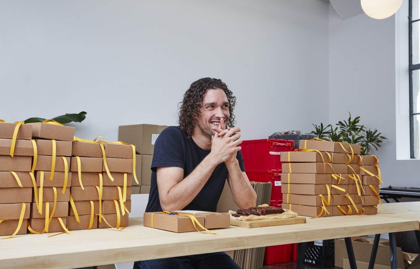 Marc Antoine Arrietaétait habité par l'idée de confectionner son propre gâteau aux fruits, selon la tradition québécoise.