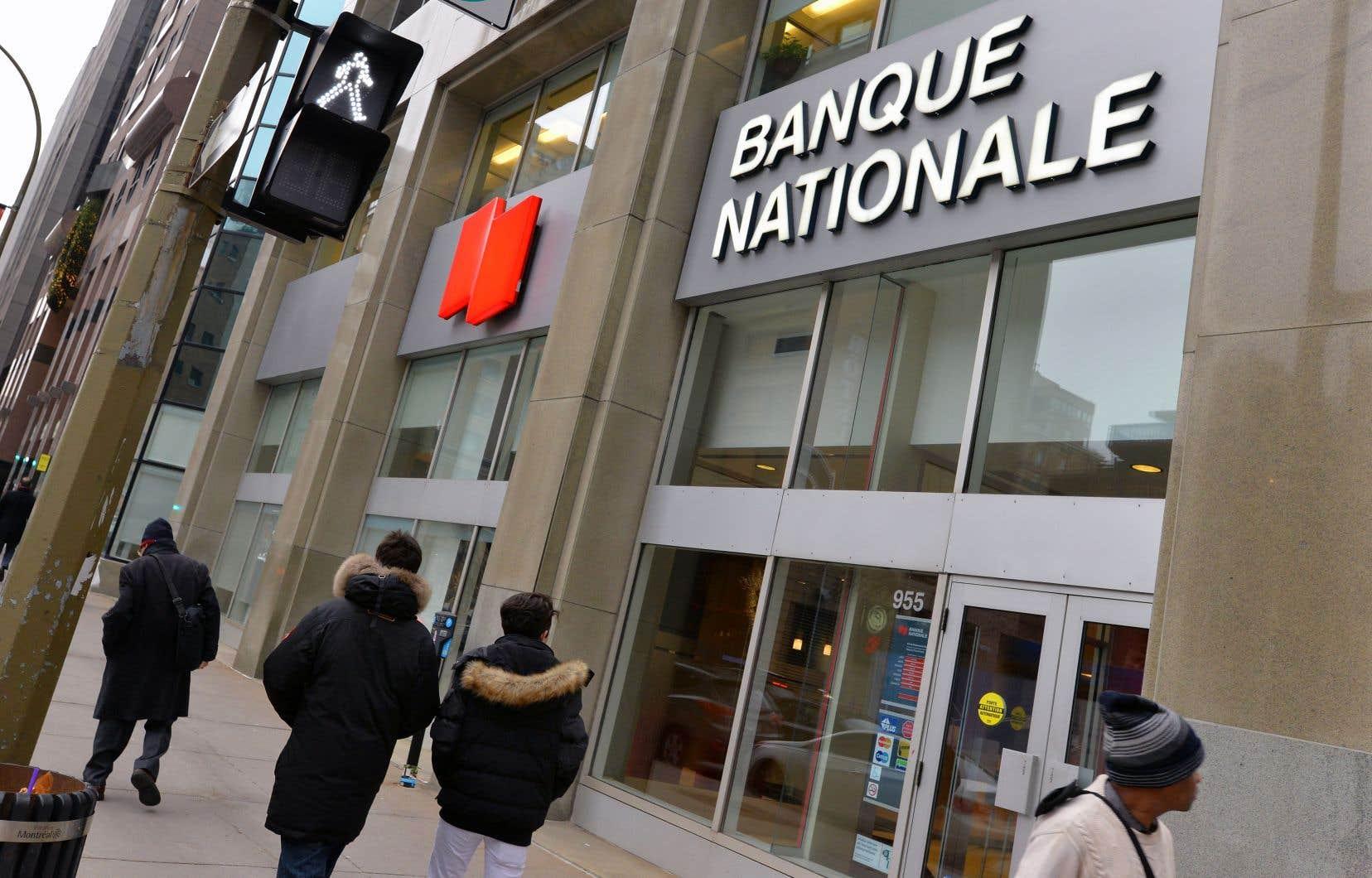 La Banque Nationale a dit avoir connu une «très bonne année» en ce qui a trait à l'acquisition nette de clients.