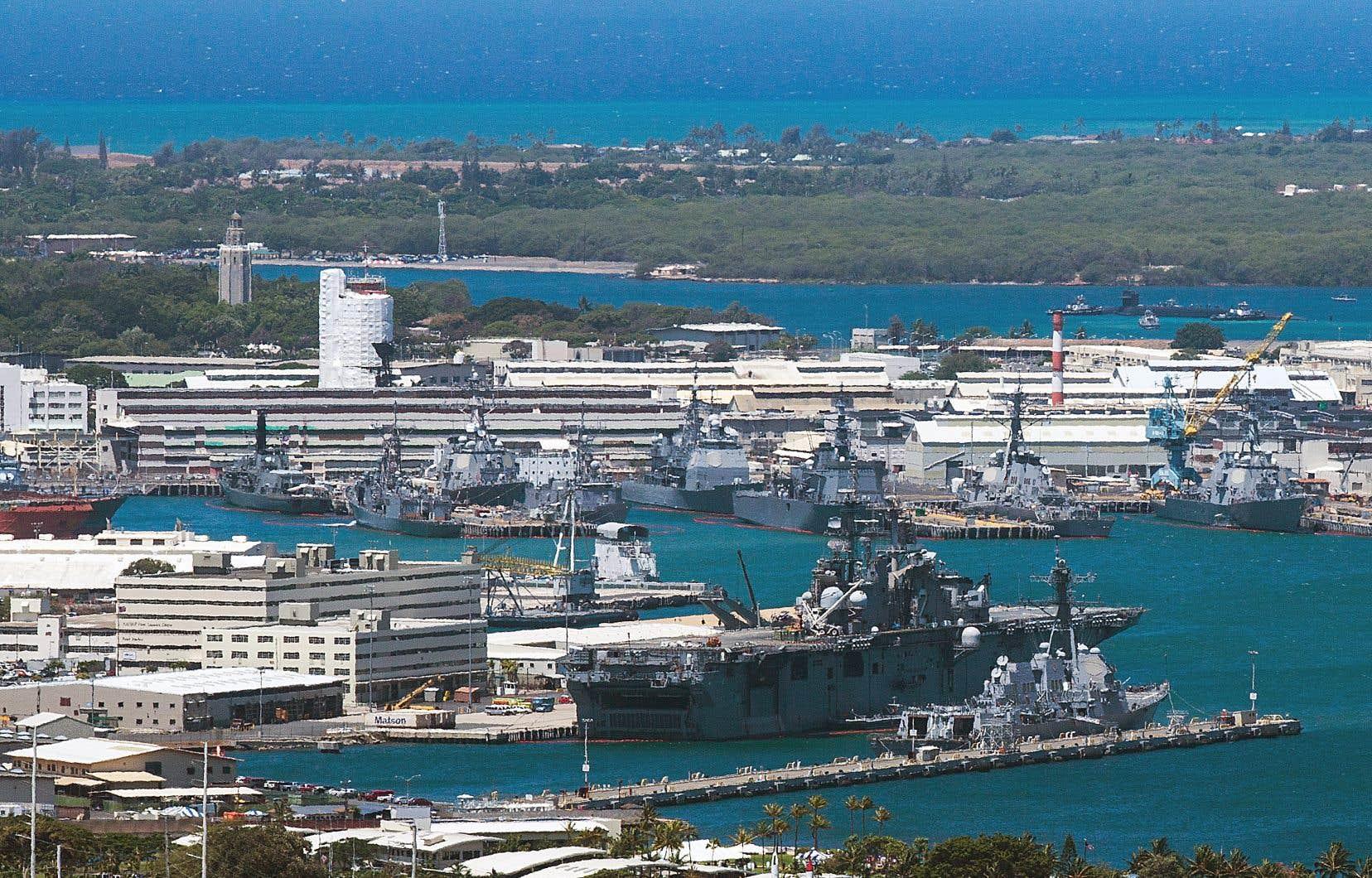 Pearl Harbor s'apprête à commémorer l'attaque surprise de la base navale par les Japonais du 7 décembre 1941.