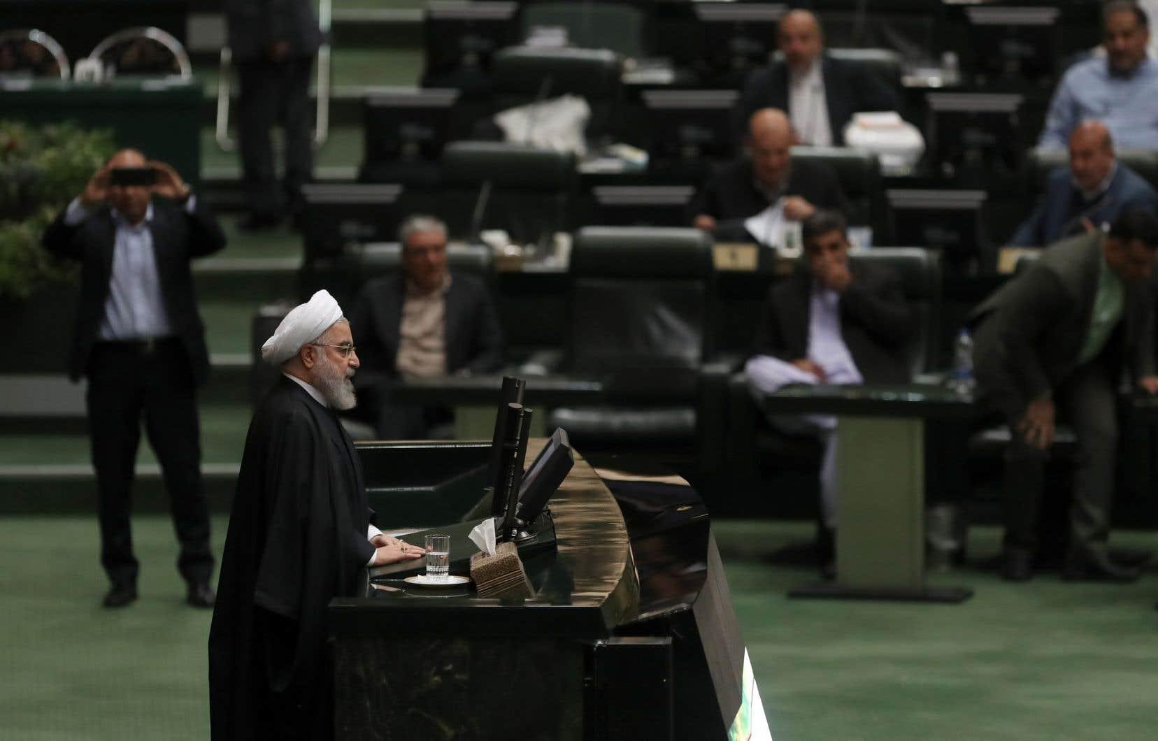 Le budget présenté au Parlement par le président Hassan Rohani comprend selon lui un «investissement» russe de cinq milliards de dollars en train d'être finalisé.