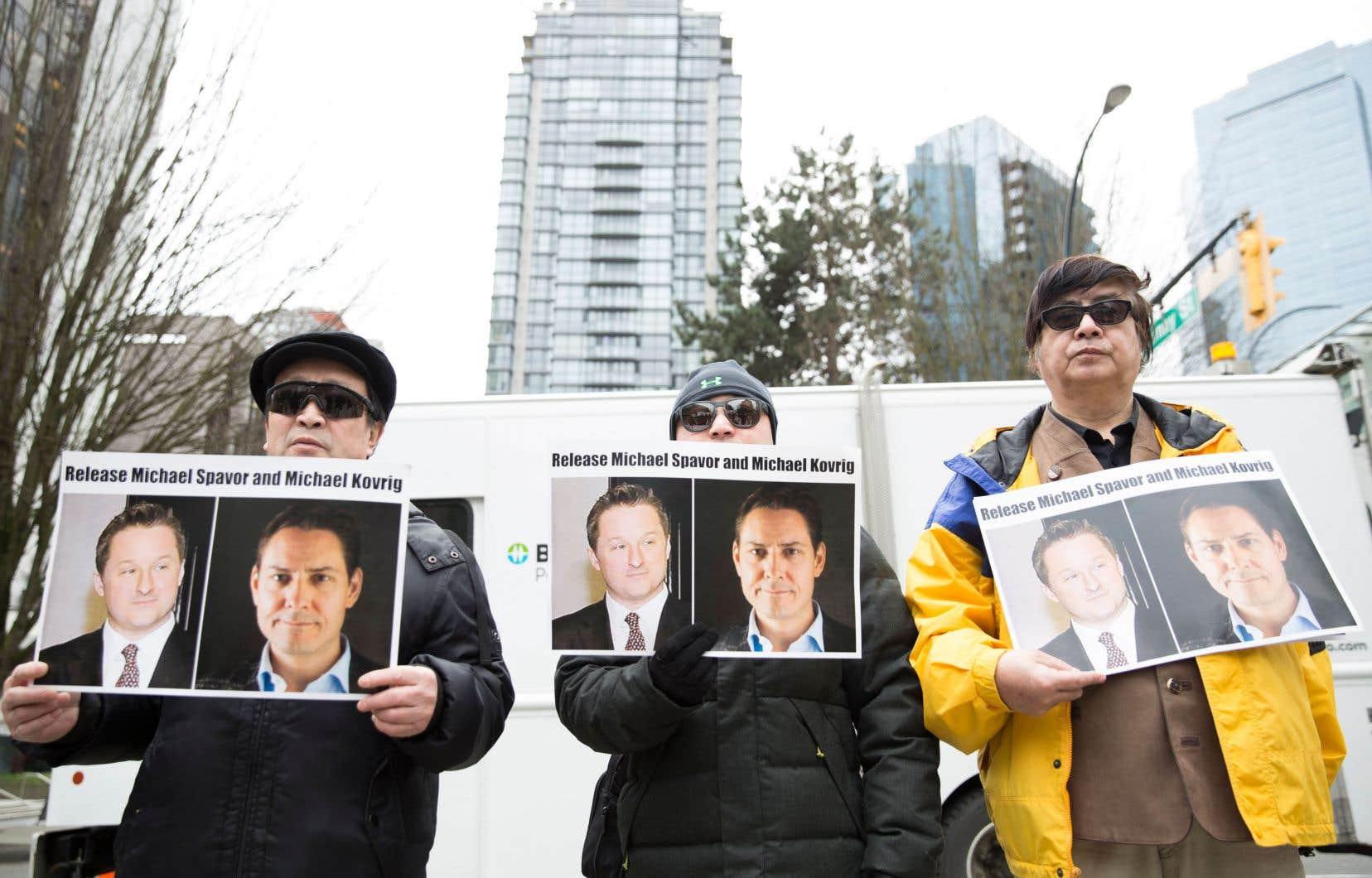 Michael Spavor et Michael Kovrig sont détenus en Chine.