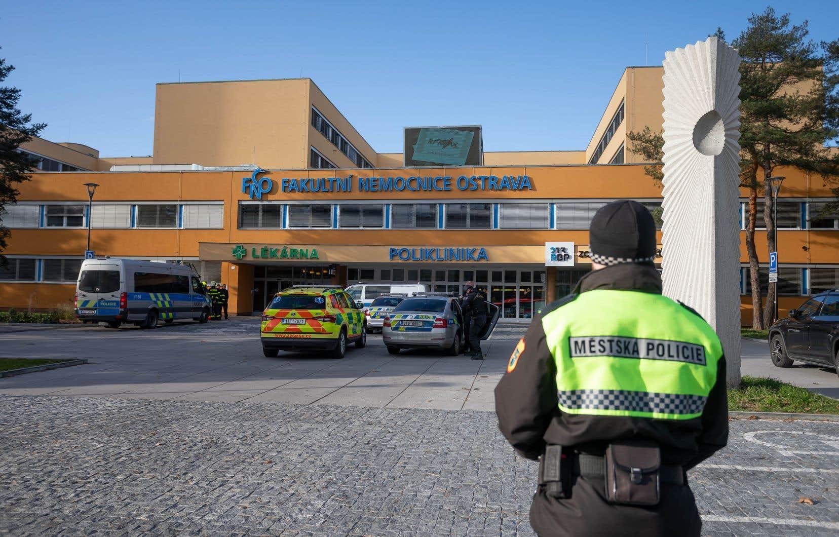 L'attaque s'est déroulée dans la salle d'attente d'un hôpital d'Ostrava, dans l'est de la République tchèque.