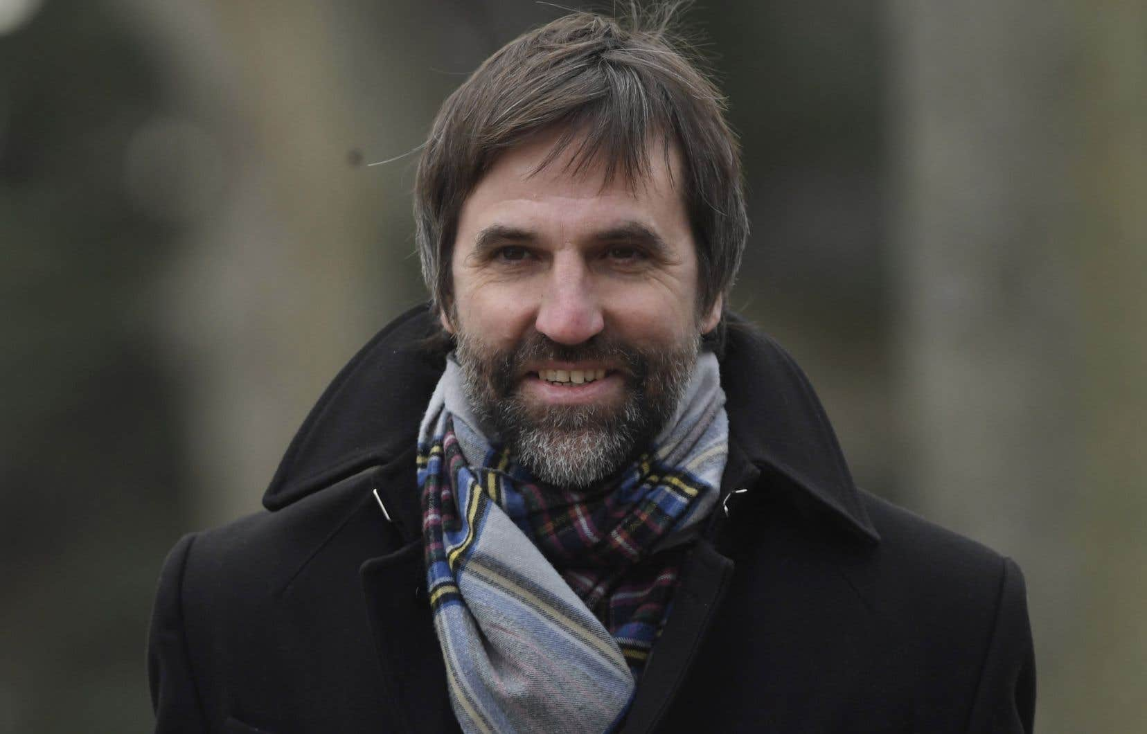 Le ministre fédéral du Patrimoine, Steven Guilbeault