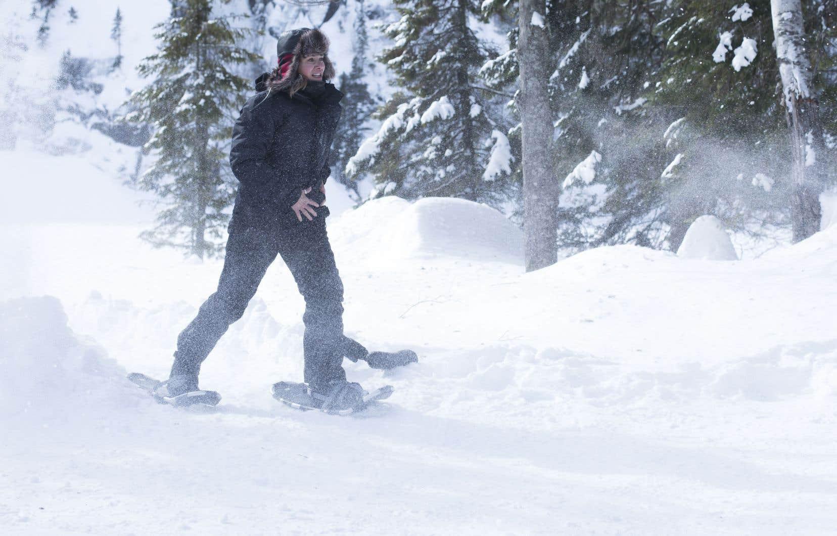 Bien captés, les paysages faits d'hiver contribuent au cachet de la série «La faille».